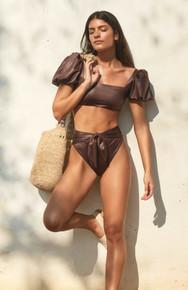 2021 Agua Bendita Bronzo Palette Calista Isabella Bikini Set