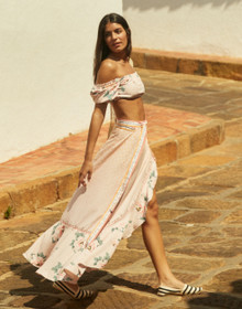 2021 Agua Bendita Zola Brasil Wrap Skirt