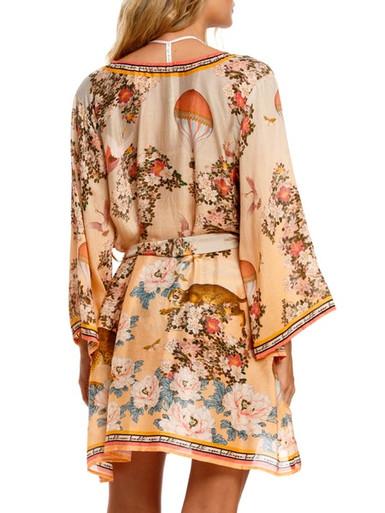 2021 Agua Bendita Zola Veronica Short Kimono