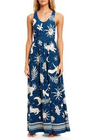 2021 Agua Bendita Maniera Leslie Maxi Dress