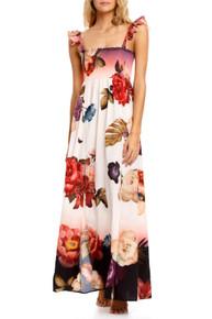 2021 Agua Bendita Shade Leandra Maxi Dress