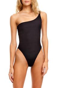 2021 Agua Bendita Shade Andrea One Piece Swimsuit Black