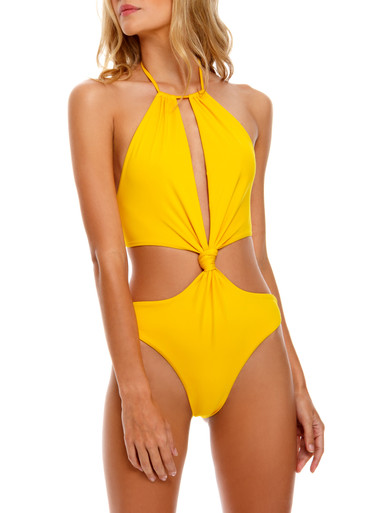 2021 Agua Bendita Jambo Tutti One Piece Swimsuit