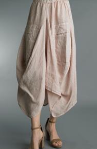 Tempo Paris Linen Skirt 712LA Mauve