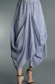 Tempo Paris Linen Skirt 712LA Lilac