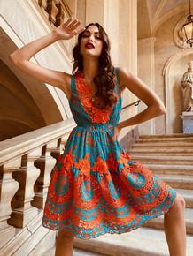 Antica Sartoria Positano Lace Dress
