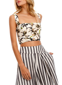 2021 Agua Bendita Giard Anais Crop Top