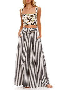2021 Agua Bendita Giard Lee Wide Leg Pants