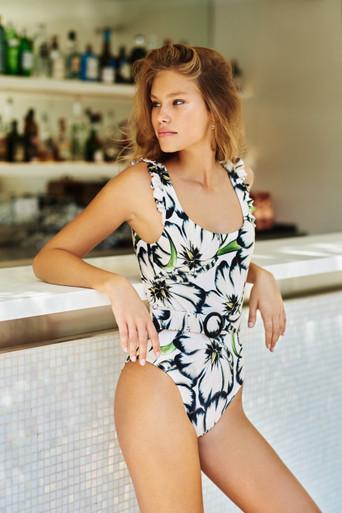 2021 Agua Bendita Giard Nicolette One Piece Swimsuit