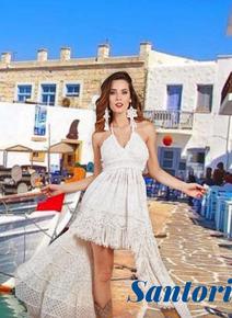 Antica Sartoria AS105 Lace Hi Low Skirt