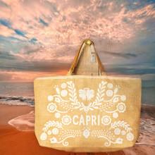 Antica Sartoria CAPRI Beach Bag