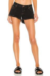One Teaspoon Cutoff Shorts Dukes Worn Black