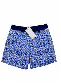 Agua Bendita Boys Swim Shorts Nick Pastel Tropic