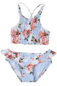 Agua Bendita Girls Bikini Set Serena Cotton Candy