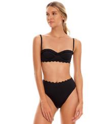 2022 Agua Bendita Dust Penelope Inca Bikini Set Black