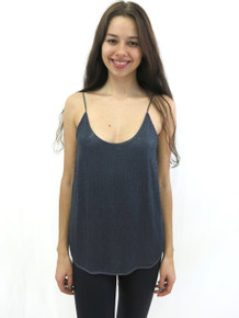 Heather Sequenced Camisole Dark Blue