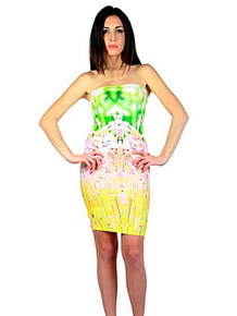 Letube Profum Garden Convertible Tube Dress