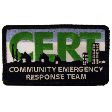 Cert Embroidered Patch 2 Quot X 3 Quot