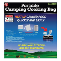 Portable Cooking Bag - with 10 Heat Pads