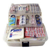 Rescuer First Aid Kit - Open