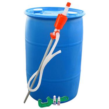 Water Barrel Kit (55 Gallon)  sc 1 st  EmergencyKits.com & 55 Gallon Watter Barrel Kit