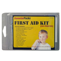 Basic First Aid Kit (60 Piece)