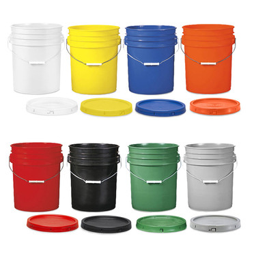 Bucket Container With Lid 5 Gallon Emergencykits Com