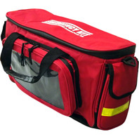 "Deluxe ""EMERGENCY KIT"" Duffel Bag - Angle View"