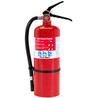 First Alert Fire Extinguisher- Rechargeable (3-A:40-B:C)