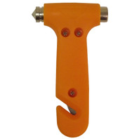 Emergency Hammer with Window Punch and Seatbelt Cutter