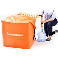 WaterBasics Emergency Water Storage Kit (60 Gallon)