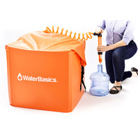 WaterBasics Emergency Water Storage Kit (30 Gallon)