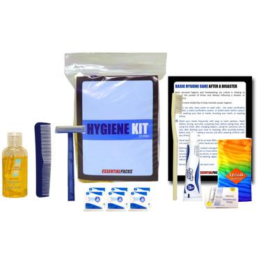 Mini Personal Hygiene Kit Contents