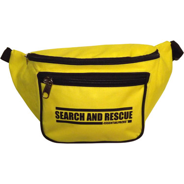 "Heavy-Duty ""SEARCH AND RESCUE"" Fanny Pack (Front View)"
