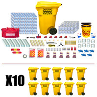 Office Emergency Kit (500 Person) - Contents