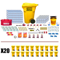 Office Emergency Kit (1000 Person) - Contents