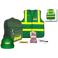 Basic CERT Kit with Green Vest - Contents