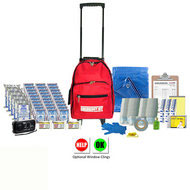 Deluxe Classroom Emergency Kit with Optional Window Clings