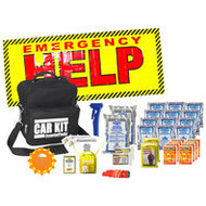 Compact Car Emergency Kit (2 Person)