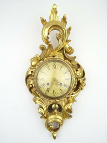 ANTIQUE SWEDISH CLOCK WESTERSTRAND VINTAGE WALL CLOCK