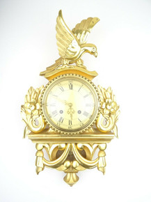 WESTERSTRAND ANTIQUE SWEDISH CLOCK VINTAGE WALL CLOCK