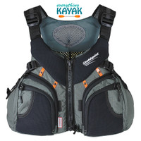 Stohlquist Keeper fishing PFD with wraptrue technology