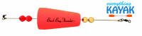 Back Bay cone popper, pink | Everything Kayak