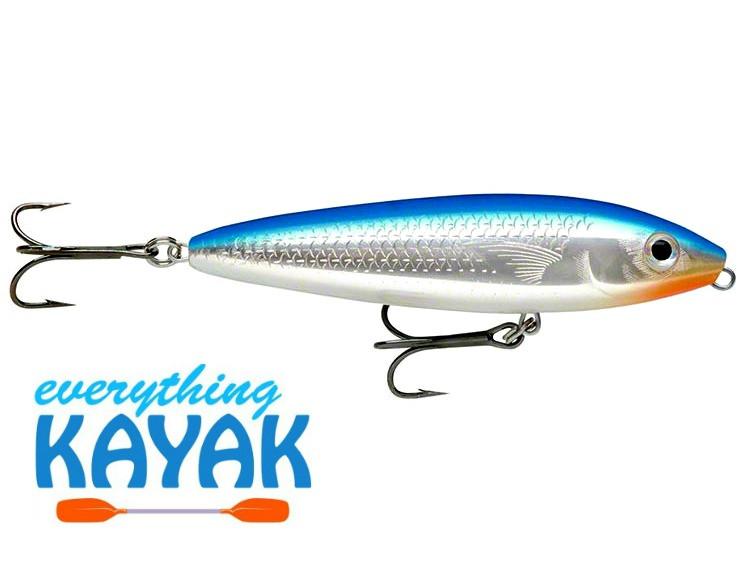 Rapala Skitter Walk Lures - Blue Mullet   Everything Kayak