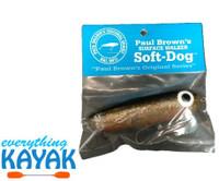 Soft Dog Lure - Black Gold Orange | Everything Kayak