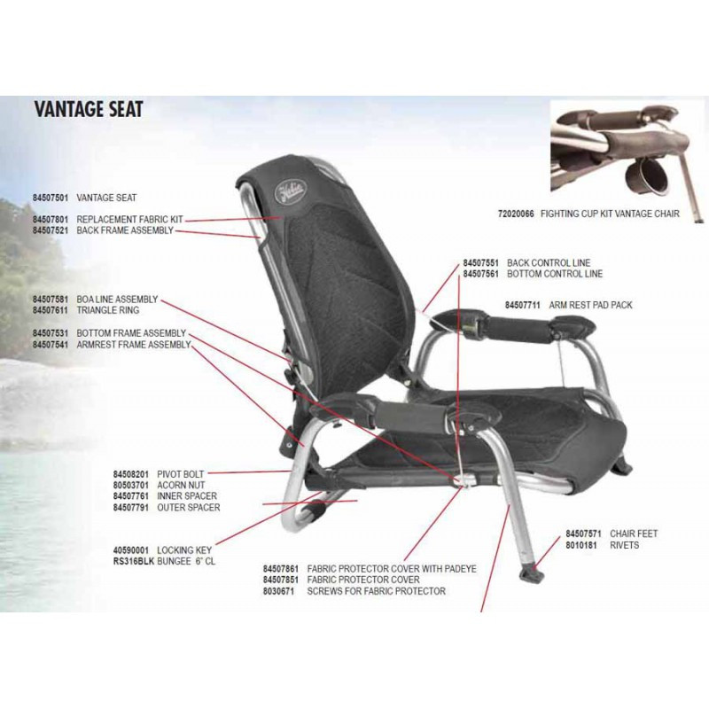 Hobie Vantage Seat Layout | Everything Kayak