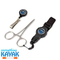 T-REIGN FISHERMAN'S COMBO (FORCEPS, NIPPERS AND RETRACTABLE GEAR TETHERS) | Everything Kayak