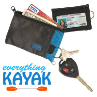 Chums Surfshorts Wallet Black/Blue Everything Kayak