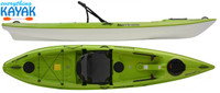 Hurricane Skimmer 116 Ultimate Green Everything Kayak