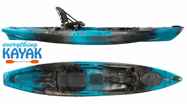 Wilderness Systems Radar 135 Midnight | Everything Kayak